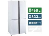 【基本設置料金セット】 冷蔵庫   JR-NF468B-W [観音開きタイプ /4ドア /468L]