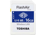 SD-UWA016G  16GB・UHS Speed Class3(Class10)対応無線LAN搭載SDHCカード「FlashAir」