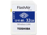 SD-UWA032G  32GB・UHS Speed Class3(Class10)対応無線LAN搭載SDHCカード「FlashAir」