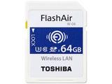 SD-UWA064G  64GB・UHS Speed Class3(Class10)対応無線LAN搭載SDXCカード「FlashAir」