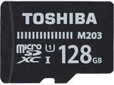 128GB・UHS Speed Class1(Class10)対応 microSDXCカード(SDXC変換アダプタ付) MU-J128GX