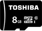 【在庫限り】 MSDBR48N08G 8GB・UHS Speed Class1(Class10)対応 microSDHCカード(SDHC変換アダプタ付)