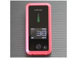 PM2.5チェッカー Air Monitor TH-A1-R (レッド)