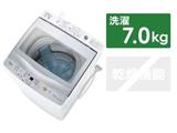 全自動洗濯機7kg AQW-GP70H(W) ホワイト