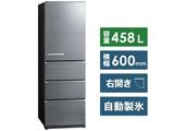 【基本設置料金セット】 冷蔵庫  チタニウムシルバー AQR-V46J-S [4ドア /右開きタイプ /458L]