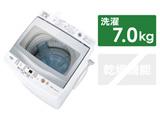 全自動洗濯機 GPシリーズ ホワイト AQW-GP70J-W [洗濯7.0kg /乾燥機能無 /上開き]