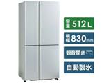 【基本設置料金セット】 冷蔵庫 TZシリーズ サテンシルバー AQR-TZ51K-S [4ドア /観音開きタイプ /512L] 【買い替え5000pt】
