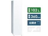スリムタイプ冷凍庫  ホワイト AQF-SF10K-W [1ドア /右開きタイプ /102L]