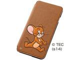 iPhone 6 Plus用 ポップアップ・ブックカバータイプ・合皮レザージャケット ジェリー RT-WP8C/JR