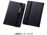 iPad mini 4用 ブックレザーケース 合皮 ブラック RT-PM3LBC1/B