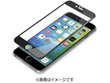 iPhone 6s Plus/6 Plus用 3Dフルラウンドゴリラガラス ブラック PG-I6PGL01BK