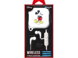Bluetooth 4.1搭載 ワイヤレス ステレオ イヤホン シリコンポーチ付き ミッキーマウス ホワイト PG-BTE1SD02MKY