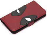 iPhone8/7/6s/6用 手帳型 MARVELフリップカバー デッドプール/レッド PG-DFP400RD PG-DFP400RD