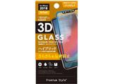 iPhone XR用 6.1用 液晶保護ガラス 3Dハイブリッドガラス アンチグレア PG-18YGL08 アンチグレ