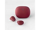 フルワイヤレスイヤホン  RED AG-TWS03RRE [リモコン・マイク対応 /ワイヤレス(左右分離) /Bluetooth]