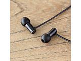 【ハイレゾ音源対応】カナル型イヤホン E1000 FI-E1DPLBL 1.2mコード ブラック