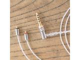 MMCX シルバーコートケーブル 4.4mmL 型プラグ MS12EZCLEH