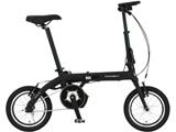14型 電動折りたたみ自転車 ULTRA LIGHT E-BIKE TRANS MOBILLY(ブラック/シングルシフト) 92201-01