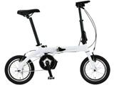 14型 電動折りたたみ自転車 ULTRA LIGHT E-BIKE TRANS MOBILLY(ホワイト/シングルシフト) 92201-12