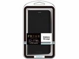 【在庫限り】 Galaxy S6 edge用 ブックタイプPUレザーケース PRIME ブラック LEPLUS LP-GS6ELBK