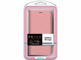 【在庫限り】 Galaxy S6 edge用 ブックタイプPUレザーケース PRIME ピンク LEPLUS LP-GS6ELPK