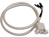 USB-001BA10 ケース用USBケーブル (マザーボードタイプ/10本入)