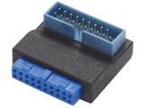 USB-018 (ケース用USB3.0アダプタ L型)