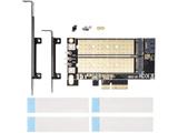 AIF-06A (M.2 SSD変換PCIeカード SATAコンボ)
