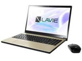 【在庫限り】 ノートPC LAVIE Note NEXT PC-NX550JAG グレイスゴールド [Win10 Home・Core i5・15.6インチ・Office付き・HDD 1TB]