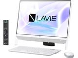デスクトップPC LAVIE Desk All-in-one DA370/KA PC-DA370KAW ファインホワイト [Win10 Home・Celeron・Office付き・23.8インチ]
