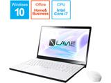 【在庫限り】 ノートPC LAVIE Note NEXT PC-NX750LAW プラチナホワイト [Win10 Home・Core i7・15.6インチ・Office付き]
