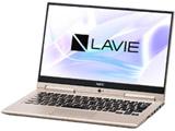 【在庫限り】 モバイルノートPC LAVIE Hybrid ZERO PC-HZ750LAG フレアゴールド [Core i7・13.3インチ・Office付き]