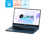 PC-HZ750LAL-2 ノートパソコン LAVIE Hybrid ZERO インディゴブルー [13.3型 /intel Core i7 /SSD:256GB /メモリ:8GB /2018年1