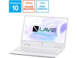 PC-NM150MAW ノートパソコン LAVIE Note Mobile(NM150/MAシリーズ) パールホワイト [12.5型 /intel Celeron /SSD:256GB /メモリ: