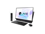 LAVIE Desk All-in-one(DA770/MAB ダブルチューナ搭載) デスクトップパソコン PC-DA770MAB ファインブラック [23.8型 /HDD:3TB /Optane