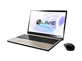 ノートPC LAVIE Note NEXT クレストゴールド PC-NX850NAG [Core i7・15.6インチ・Office付き・HDD 1TB・SSD 256GB]