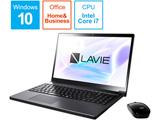 PC-NX750NAB ノートパソコン LAVIE Note NEXT グレイスブラックシルバー [15.6型 /intel Core i7 /HDD:1TB /Optane:16GB /メモリ: