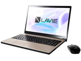 PC-NX750NAG ノートパソコン LAVIE Note NEXT クレストゴールド [15.6型 /intel Core i7 /HDD:1TB /Optane:16GB /メモリ:8GB