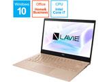 モバイルノートPC LAVIE Pro Mobile フレアゴールド PC-PM750NAG [Core i7・13.3インチ・Office付き・SSD 512GB]