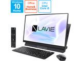 デスクトップPC LAVIE Desk AllinOne PCDA670MAB2 ファインブラック [Core i5・27インチ・Office付き・HDD 1TB・メモリ 8GB]