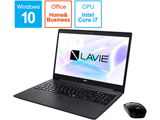 ノートPC LAVIE Note Standard PCNS700NAB2 カームブラック [Core i7・15.6インチ・Office付き・SSD 512GB・メモリ 8GB]