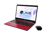 ノートPC LAVIE Note Standard PCNS700NAR2 カームレッド [Core i7・15.6インチ・Office付き・SSD 512GB・メモリ 8GB]