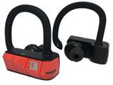 【在庫限り】 フルワイヤレスイヤホン(左右分離タイプ)耳かけカナル型 Rio3(レッド)AERO00RD00