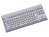 FKB8769-052 テンキーレスキーボード USB・92キー日本語配列・ライトグレー
