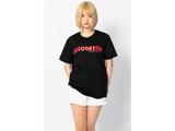 DeToNator(デトネーター)2018Tシャツ-黒-ロゴレッド(サイズ:M)