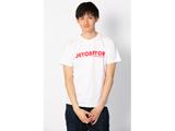 DeToNator(デトネーター)2018Tシャツ-白-ロゴレッド(サイズ:M)