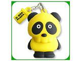 """【在庫限り】 """"D-096 PANDA USB MEMORY"""" ドクロパンダUSBメモリー (2GB・黄) D-096-P-02Y"""