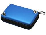 【在庫限り】 New3DS LL用 おしらせポーチ ブルー [DJ-N3LOP-BL]