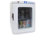 ディスプレイ型ポータブル保冷温庫(25L) XHC-25-WH 白