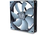 高精度密閉型FDBベアリング採用システムファン「KAZE FLEX140」シリーズのスクウェア(SQUARE / 四角)形状モデル KF1425FD12S-P
